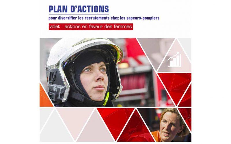 Actions en faveur des femmes sapeurs-pompiers