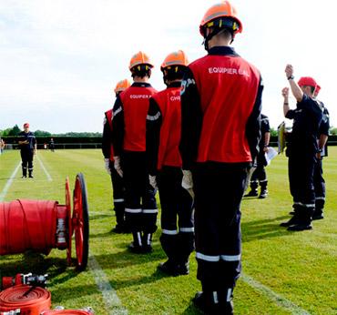 jeune sapeurs pompiers